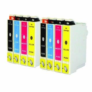 8PK Compatible Epson 126 T126120 T126220 T126320 T126420 Epson Stylus NX330 NX430 WorkForce 435 520 545 630 633 635 645 840 845
