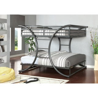Furniture of America Armentia Full Over Full Metal Bunk Bed