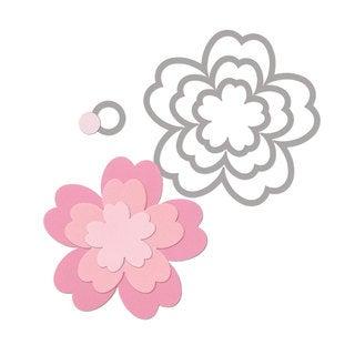 Sizzix Framelits 4-pack Flowers #3 by Rachael Bright Die Set