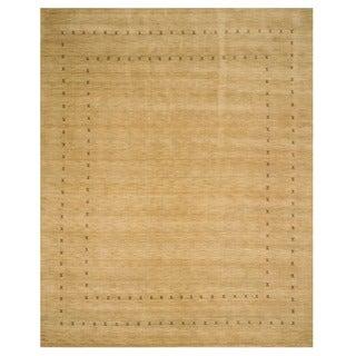 Handmade Wool Lori Baft Rug (9' x 12')