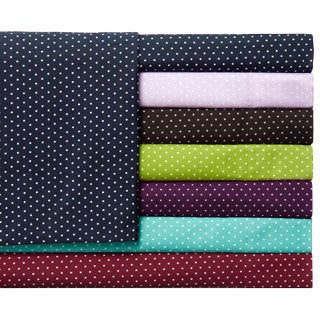 Expressions Grand Polka-dot Easy Care Sheet Set