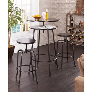 Holly & Martin Kalomar 3-piece Adjustable Pub Table and Stools