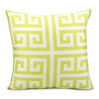 Nourison 'Mina Victory' 20-inch Lime Indoor/ Outdoor Throw Pillow