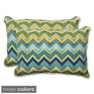 Pillow Perfect Outdoor Tamarama Over-sized Rectangular Throw Pillow (Set of 2)