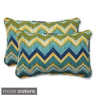 Pillow Perfect Outdoor Tamarama Rectangular Throw Pillow (Set of 2)