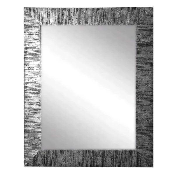 American Made Rayne Silver City Wall Mirror