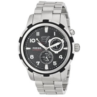 Fossil Men's 'Dean' Stainless Steel Automatic Watch