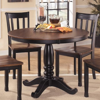 Signature Design by Ashley Round Dining Room Table