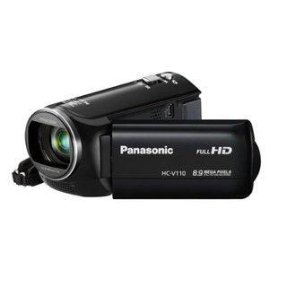 Panasonic HC-V110 HD 8.9MP Black Camcorder