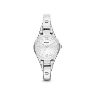 Fossil Women's Georgia Three-Hand Leather Watch