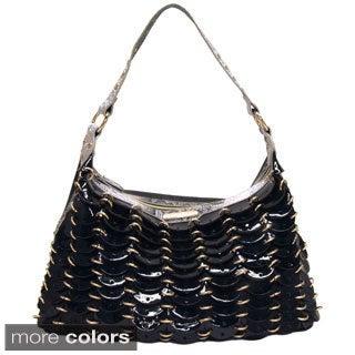 Nicole Lee 'Grechen' Circular Chained Satchel Bag