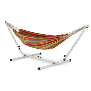 Stansport Brazilian Cotton Hammock with Stand