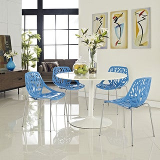 Stencil Blue Dining Side Chair (Set of 4)