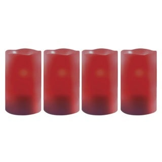Order Home Collection 4-piece Candle Set with Timer - Cinnamon Scent