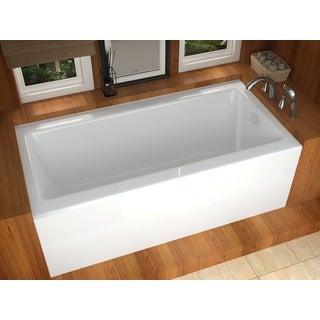 Mountain Home Stratus 32 x 60 Acrylic Soaking Bathtub with Front Apron