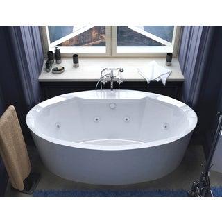 Mountain Home Alpine 34 x 68 Acrylic Whirlpool Jetted Freestanding Bathtub