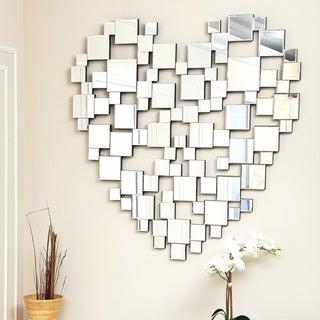 ABBYSON LIVING Heart-shaped Wall Mirror