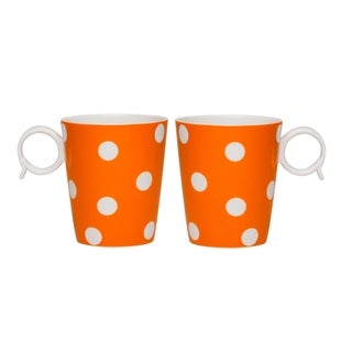 Freshness Mix & Match Dots Orange Mug Set