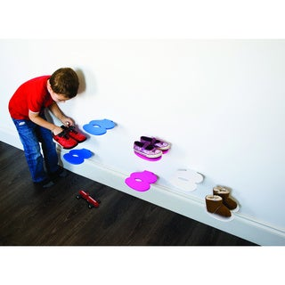 J-me Children's Footprint Shoe Shelf