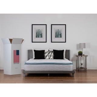 NuForm Quilted Pillow Top 11-inch Full XL-size Foam Mattress
