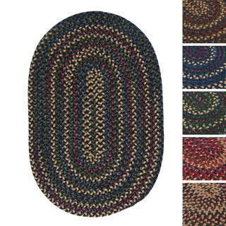 Horizon Multicolored Reversible Braided Rug (3' x 5')
