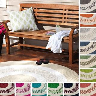 Hampton Fade-resistant Indoor/ Outdoor Braided Rug (6' x 9')