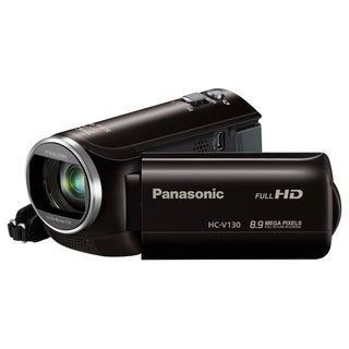 "Panasonic HC-V130 Digital Camcorder - 2.7"" LCD - BSI MOS - Full HD -"