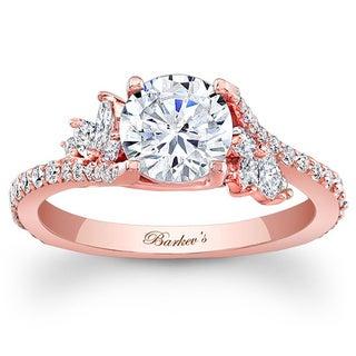 Barkev's Designer 14k Rose Gold 1 1/3ct TDW Diamond Ring (F-G, SI1-SI2)