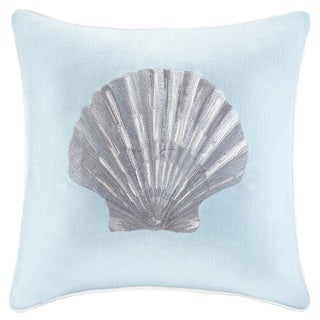 Madison Park Linen Embroidered Feather/Down Decorative Throw Pillows - Multiple Options