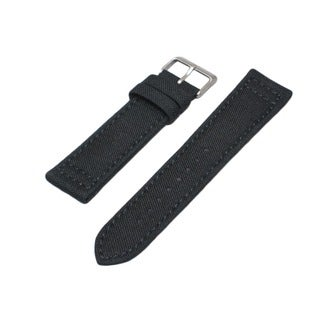 Hadley Roma Genuine Cordura Canvas Watch Strap with Contrast Stitching
