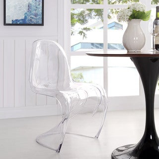 Clear Acrylic Dining/ Side Chair