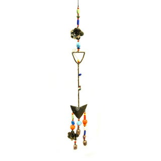 Handmade 'Lets Garden' Wind Chime (India)