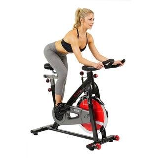 Sunny Health Fitness Belt Drive Indoor Cycling Bike