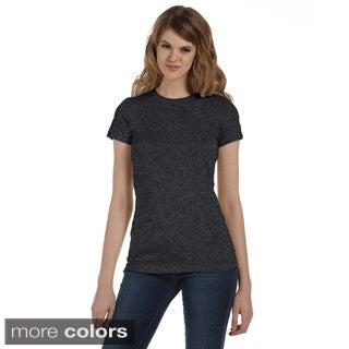 Bella Women's Crew Neck Cotton T-shirt