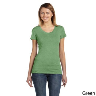 Bella Women's Tri-blend Scoop Neck T-shirt