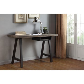 Renate Latte/ Black Desk and Shelf