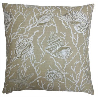 Harbor Island Decorative Feather Filled Throw Pillow