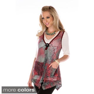 Women's Trapeze Hem Knit Vest Top