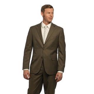Geoffrey Beene Men's Brown Sharkskin Coat