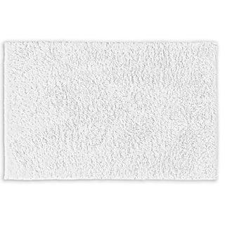 Somette Grace Cloud White Cotton 30 x 50 Bath Rug