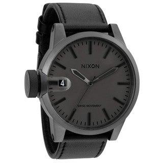 Nixon Men's Chronicle Matte Black/Gunmetal Watch