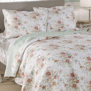 Laura Ashley Arundel Cotton 3-piece Quilt Set