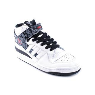 Adidas Men's 'Forum Mid' Synthetic Casual Shoes