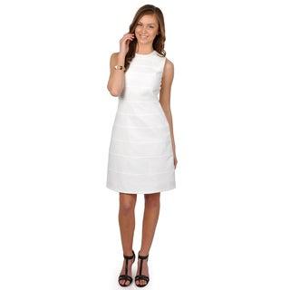 Calvin Klein Women's Sleeveless A-Line Dress