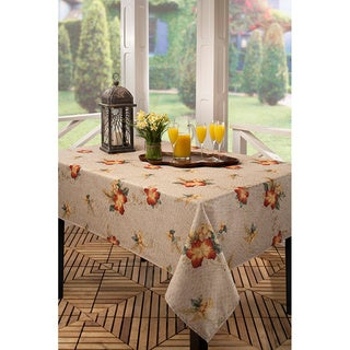 Crocodile Hibiscus Tablecloth (Multiple Sizes Available)