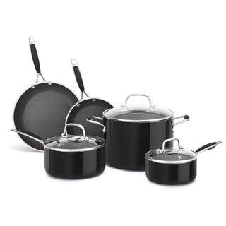 KitchenAid Aluminum Nonstick Black 8-piece Cookware Set