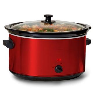 Metallic Red 300-watt 8.5-quart Slow Cooker