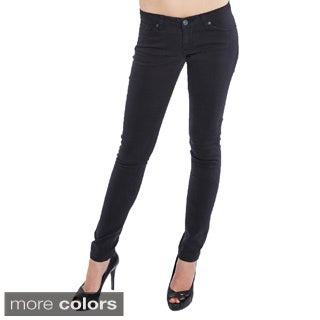 Junior's Brushed Stretch Twill Skinny Jeans