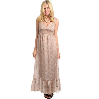 Feellib Women's Sassy Long Dress