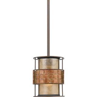 Laguna 1-light Renaissance Copper Rod Hung Mini Pendant